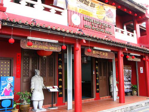 Image result for chinese admiral cheng ho melaka
